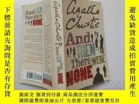 二手書博民逛書店And罕見Then There Were None(無人生還)Y