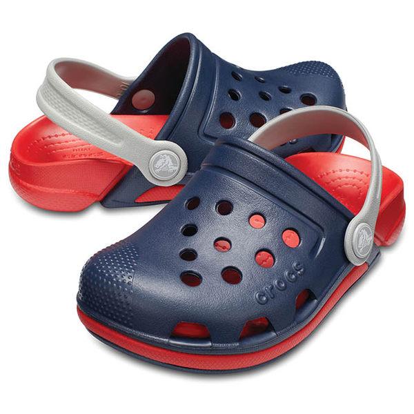 Crocs 伊萊克托3代小克駱格 深藍色 小中童鞋 NO.R2908