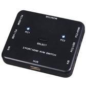 【伽利略】HDMI 4K2K 2埠 KVM電腦切換器(HKVM2S) [富廉網]