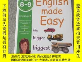 二手書博民逛書店English罕見Made Easy: Ages 8-9 Key Stage 2 (Carol Vorderman