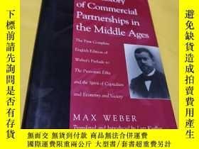 二手書博民逛書店The罕見history Of commercial partnerships in the middle age