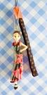 【震撼精品百貨】NEO LICCA麗卡~鑰匙圈吊飾-弗朗明哥黑紅