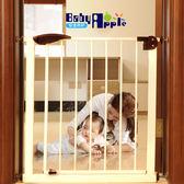 嬰兒童安全門欄寶寶樓梯口免打孔防護欄圍欄寵物貓狗柵欄杆隔離門(全館滿1000元減120)