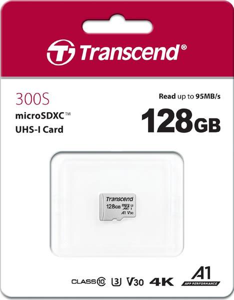 創見 Mircro SD記憶卡 128G