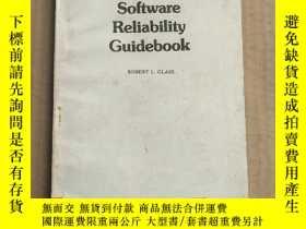二手書博民逛書店software罕見reliability guidebook(P3286)Y173412
