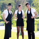 圍裙 - 圍裙工作服廚房家居做飯圍腰廚師...