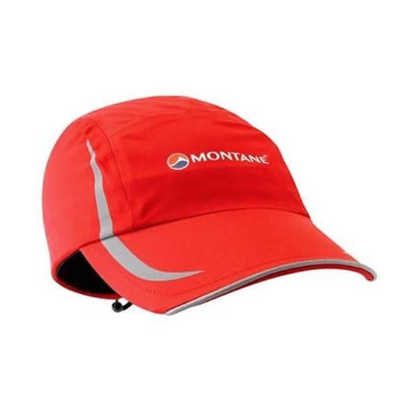 [MONTANE] Pace 反光防水透氣帽 豔紅 (HPACA-ALP)