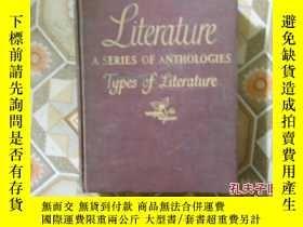 二手書博民逛書店43版罕見經典文學賞析 Literature: A Series