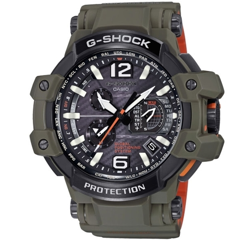 CASIO G-SHOCK飛行悍將領航運動腕錶/GPW-1000KH-3A