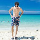 沙灘褲 溫泉男士泳衣舒適帥氣游泳