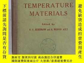 二手書博民逛書店high罕見temperature materials(H267
