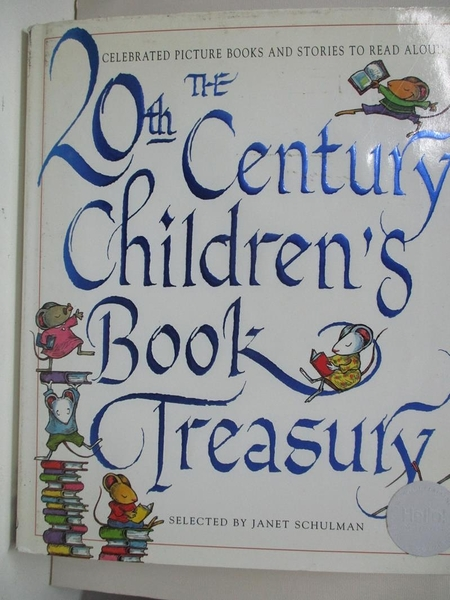 【書寶二手書T1/少年童書_DYW】The 20th-Century Children s Book Treasury: Picture Books…