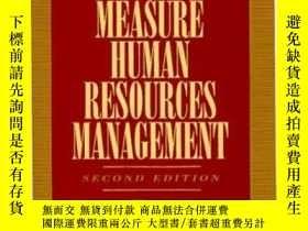 二手書博民逛書店How罕見To Measure Human Resource M