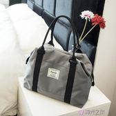 旅行袋行李包女手提旅行袋輕便行李袋健身包旅游 時光之旅 免運