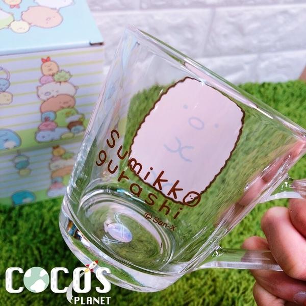 正版 角落小夥伴 角落生物 大臉馬克杯 杯子 水杯 玻璃馬克杯 豬排款 COCOS SS280