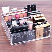 化妝品收納架 粉餅眼影收納盒放口紅的女氣墊眼影盤腮紅架抽屜分隔 - 歐美韓
