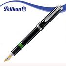 Pelikan 百利金M 405黑桿白夾鋼筆