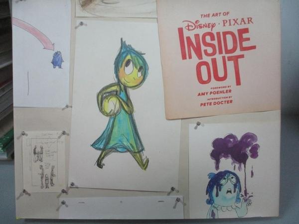 【書寶二手書T5/影視_WFI】The Art of Inside Out_Poehler Amy (FRW),Doct