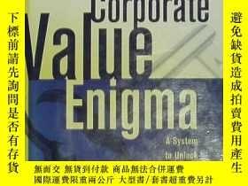 二手書博民逛書店英文原版書罕見Solving the Corporate Val