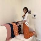 韓系女裝 舒適滿版圖案居家長褲【C1091】韓妞必備 百搭顯瘦基本款 阿華有事嗎