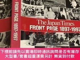二手書博民逛書店The罕見Japan Times front page 1897-1997Y403949 [editor-in