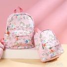 兒童書包公主女孩幼兒園0-3-6-12歲防水輕便背包潮小學生可愛帆布 夏季狂歡