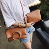 大包包女女包韓版摺疊手提時尚包大容量單肩斜背包  英賽爾3C數碼店
