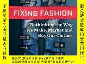 二手書博民逛書店Fixing罕見Fashion-定形Y436638 Michael Lavergne New Society