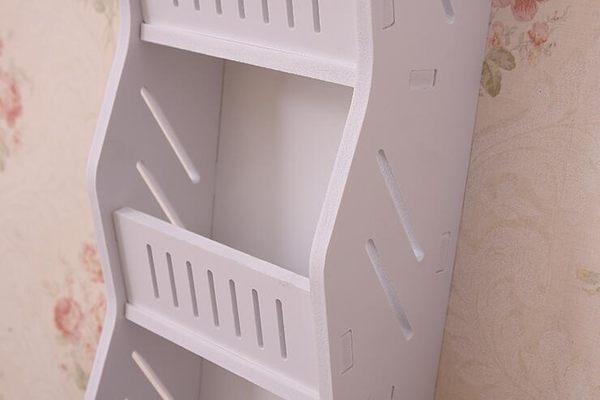 白色創意鏤空手機充電插座收納置物架貼牆上壁掛掛袋收納架鑰匙盒