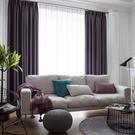 窗簾 簡約現代遮陽隔熱窗簾布定制客廳臥室陽台落地飄窗全遮光窗簾成品 店慶降價
