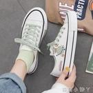 涂鴉帆布鞋女2021年夏季新款韓版學生百搭潮ulzzang原宿ins板鞋子 蘿莉新品