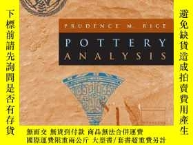 二手書博民逛書店Pottery罕見AnalysisY256260 Rice, Prudence M. Univ Of Chic