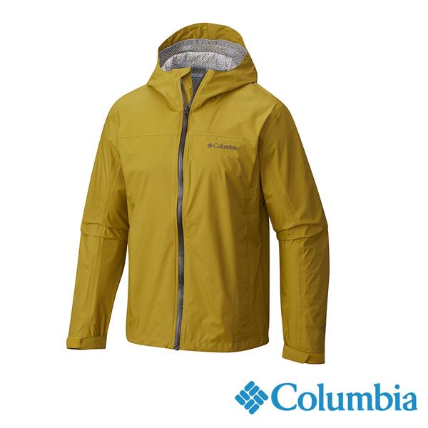 Columbia 男 OT快排2.5L單件防水外套-芥末黃 URE20230MU【GO WILD】