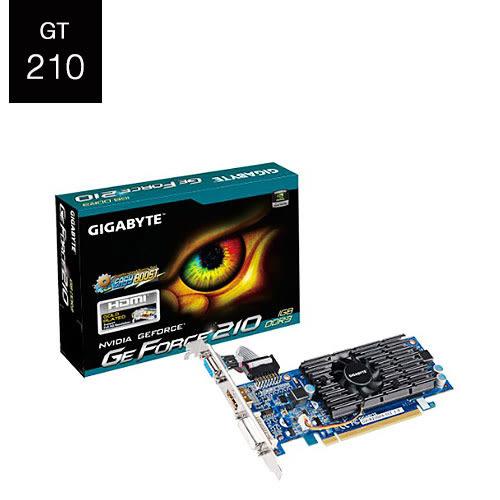 GIGABYTE 技嘉 GV-N210D3-1GI 顯示卡