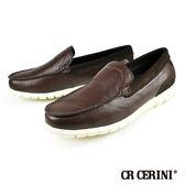 【CR CERINI】簡約時尚帆船鞋 深咖(79672-DBR)