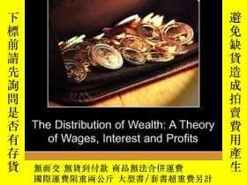 二手書博民逛書店The罕見Distribution Of WealthY256260 John Bates Clark Dod