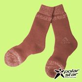 【PolarStar】羊毛保暖雪襪『暗橘』P18609 露營.戶外.登山.保暖襪.彈性襪.休閒襪.長筒襪.襪子