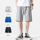 夏季基礎款純色休閒短褲男寬鬆直筒百搭運動褲薄款衛褲五分褲 一米陽光