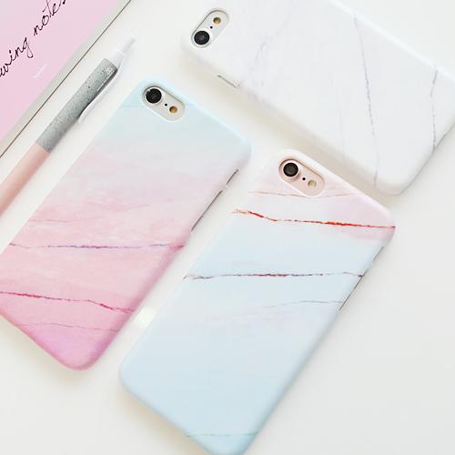 韓國 漸層大理石紋 硬殼 手機殼│iPhone 6 6S 7 8 Plus X XS MAX XR 11 Pro LG G7 G8 V40 V50│ z7986