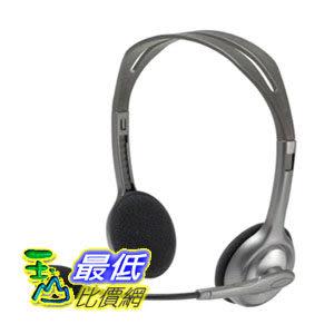 [104美國直購] Logitech 羅技 Stereo Headset H110 耳機 TC2 $550