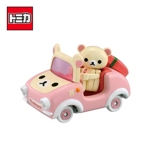 【日本正版】TOMICA 騎乘系列 R09 懶熊妹 x 懶熊妹汽車 拉拉熊 玩具車 多美小汽車 - 968351