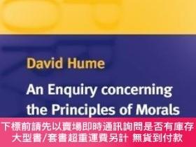二手書博民逛書店An罕見Enquiry Concerning The Principles Of MoralsY464532