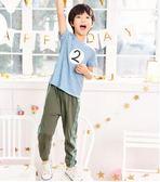 男童防蚊褲薄款夏季純棉超薄新款夏裝中大童空調褲