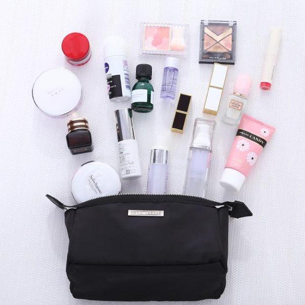 韓國出差旅行化妝品收納包袋大容量便攜小號手拿簡約可愛化妝包女