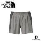 【The North Face 男 FlashDry快排5吋短褲石碑灰/瀝灰】CKU9/儲物袋/ FlashDry/閃電快乾/排汗
