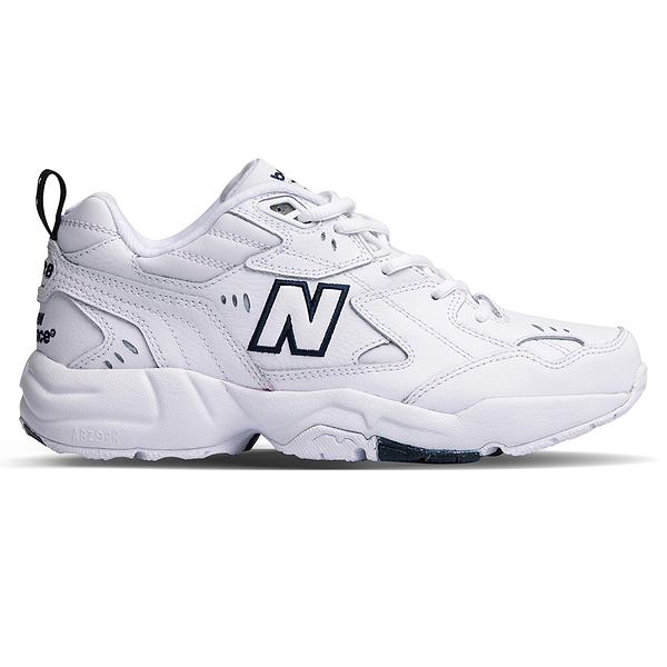 【現貨在庫】 New Balance 608 男鞋 女鞋 休閒 老爹鞋 韓款 白 藍【運動世界】WX608WT