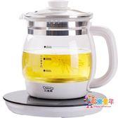 養生壺 全自動加厚玻璃多功能煮茶器電熱燒水壺花茶壺壺 1色