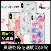 GS.Shop X Doria 乾燥花 背殼 透明殼 iPhone X/XS/XR/XS Max 防摔殼 保護套 保護殼