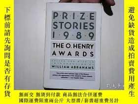 二手書博民逛書店PRIZE罕見STORIES 1989 THE O.HENRY