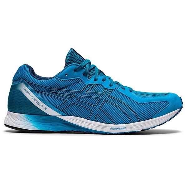 ASICS TARTHEREDGE 2(2E) 男鞋 慢跑 回彈 耐磨 透氣 寬楦 藍【運動世界】1011A855-402
